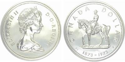 Kanada, Dollar 1973