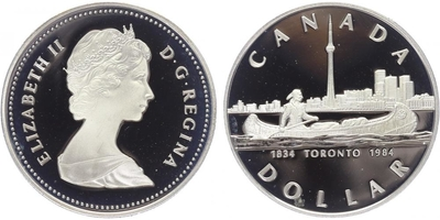 Dollar 1984, PROOF