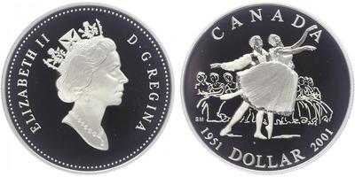 Dollar 2001 - 50. výročí Národního baletu, PROOF
