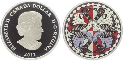 Dollar 2012 - 25. výročí ikonického dolaru z roku 1987, PROOF