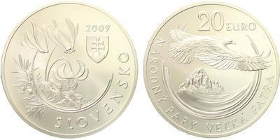20 Euro 2009 - Národní park Velká Fatra, běžná kvalita