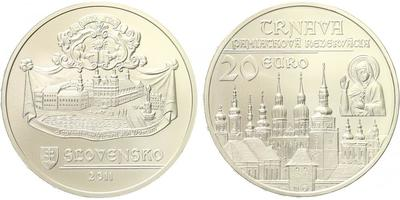 20 Euro 2011 - Památková rezervace Trnava, běžná kvalita