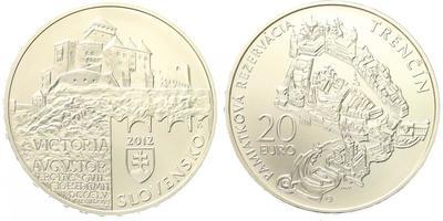 20 Euro 2012 - Památková rezervace Trnčín, běžná kvalita