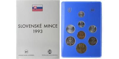 Ročníková sada mincí 1993