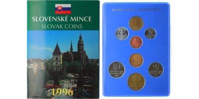 Ročníková sada mincí 1996