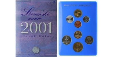 Ročníková sada mincí 2001