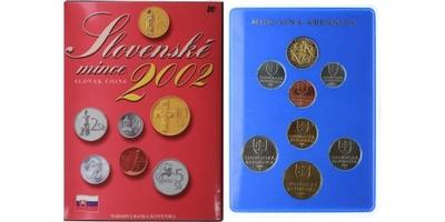 Ročníková sada mincí 2002