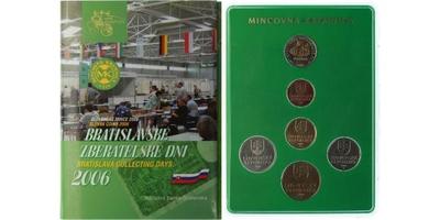 Ročníková sada mincí 2006 - Zběratelské dny