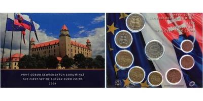 Ročníková sada euro mincí 2009 - Euro mince