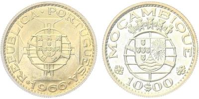 10 Escudo 1966