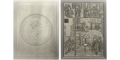 15 Dollar 2014 - Shakespeare - Romeo a Julie, PROOF