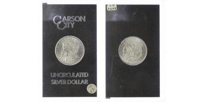 Dollar 1884, Carson City