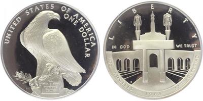 Dollar 1984 - XXIII. Olympijské hry v Los Angeles, PROOF
