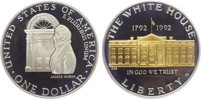 Dollar 1991 - 200. výročí Bílého domu, PROOF