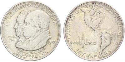 USA, 1/2 Dollar 1923