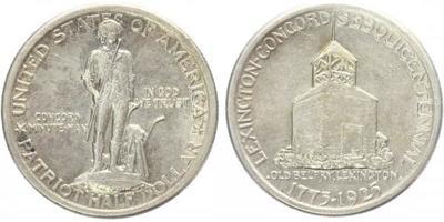 USA, 1/2 Dollar 1925