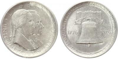 USA, 1/2 Dollar 1926