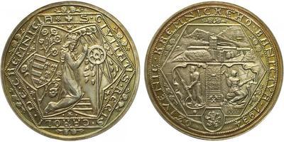AR Medaile 1934 (1973) - Odražek 10 dukátové medaile na oživení kremnického baníctva