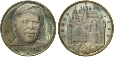 Československo, Medaile 1989 - Prezident Václav Havel, PROOF