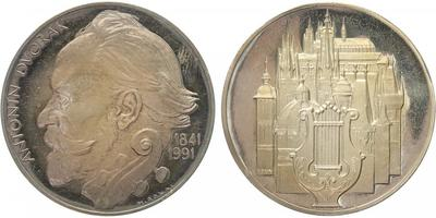 Miroslav Ronai, medaile 1991 - Antonín Dvořák, PROOF