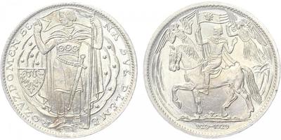 AR Medaile 1929 - Milénium sv. Václava 929 - 1929