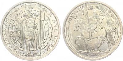 Otakar Španiel, Medaile 1929 - Milénium sv. Václava 929 - 1929