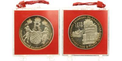 AR Medaile 1979 - 400. výročí povýšení Příbrami na královské horní město, Proof