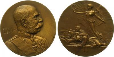 AE Medaile 1914 - Medaile na světovou válku, Br 50 mm