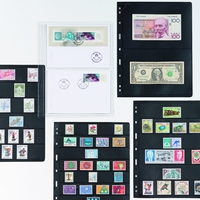 Listy na bankovky do alba VARIO Classic - tříkomorový 5 kusů