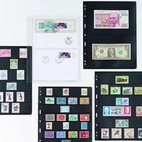 Listy na bankovky do alba VARIO Classic - dvoukomorový, 5 kusů