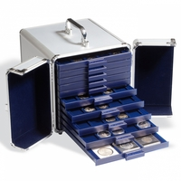 Hliníkový kufřík na mince pro plata SMART