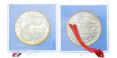 AR Medaile 1980 - Čedok, Etue