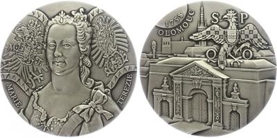 AR Medaile 2019 - Marie Terezie - 260. výročí úspěšné obrany Olomouce 1758
