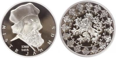 AR Medaile b.l. - Největší osobnosti českého národa - Mistr Jan Hus, PROOF