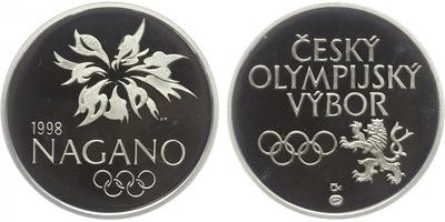 AR Medaile 1998 - Nagano - Český olympijský výbor, PROOF