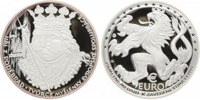 AR Medaile 1999 - Jiří z Poděbrad, PROOF