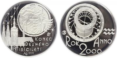 AR Medaile 2000 - Konec druhého tisíciletí, PROOF