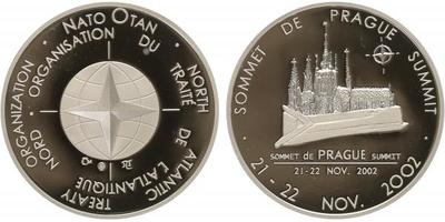 AR Medaile 2002 - Summit NATO 2002 - Praha, PROOF