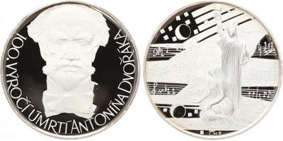 AR Medaile 2004 - Antonín Dvořák, PROOF