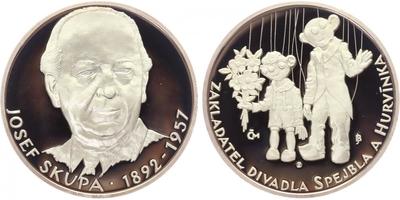 AR Medaile b.l. - Josef Skupa