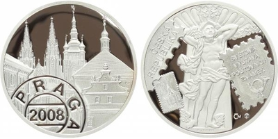 AR Medaile 2008 - Praga 2008, PROOF