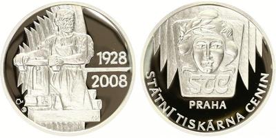 AR Medaile 2008 - Státní tiskárna cenin, PROOF