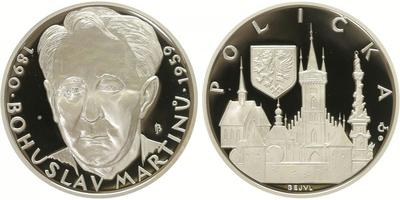 AR Medaile 2009 - Bohuslav Martinů, PROOF