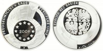 AR Medaile 2009 - Předsednictví ČR v Radě EU, PROOF