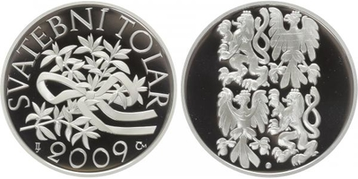 AR Medaile 2009 - Svatební tolar, PROOF