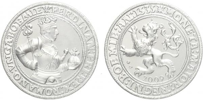 AR Medaile 2009 - návrh českého tolaru Ferdinanda I.