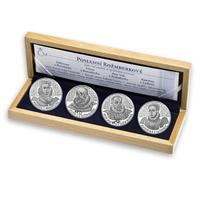 AR Medaile 2011 - Sada 4 kusů medailí se společným reversem - Poslední Rožmberkové, PROOF