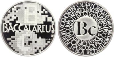 AR Medaile b.l. - Bakalář, PROOF