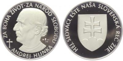 AR Medaile b.l. - Andrj Hlinka, PROOF