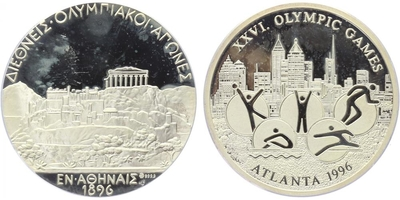 AR Medaile 1996 - Atlanta, PROOF